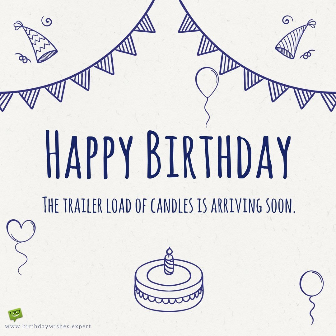 30th birthday card messages for friend ; Funny-Birthday-wish-for-a-friend-on-image-with-celebration-decoration-doodles