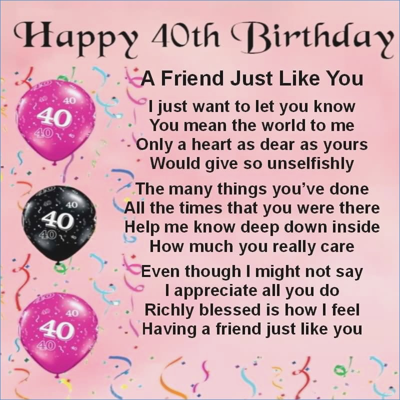 30th birthday card messages for friend ; happy-40th-birthday-to-best-friend-wishes-graphic-800c297800-of-30th-birthday-card-messages-for-best-friend
