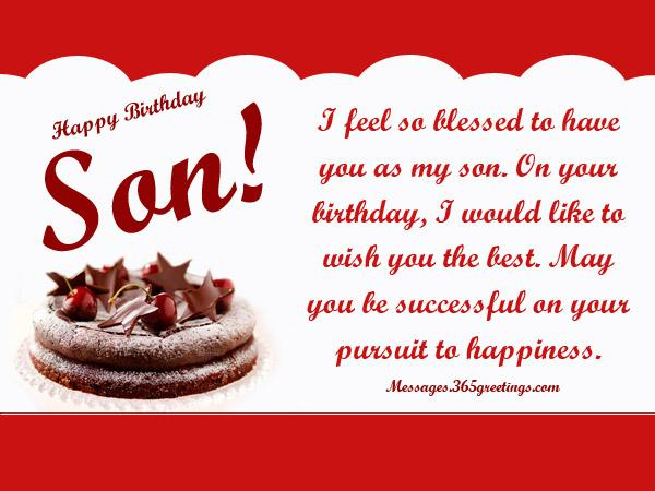 30th birthday card messages for son ; birthday-wishes-for-son