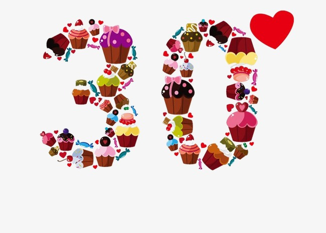 30th birthday clip art images ; 21576e8a0d2c34a