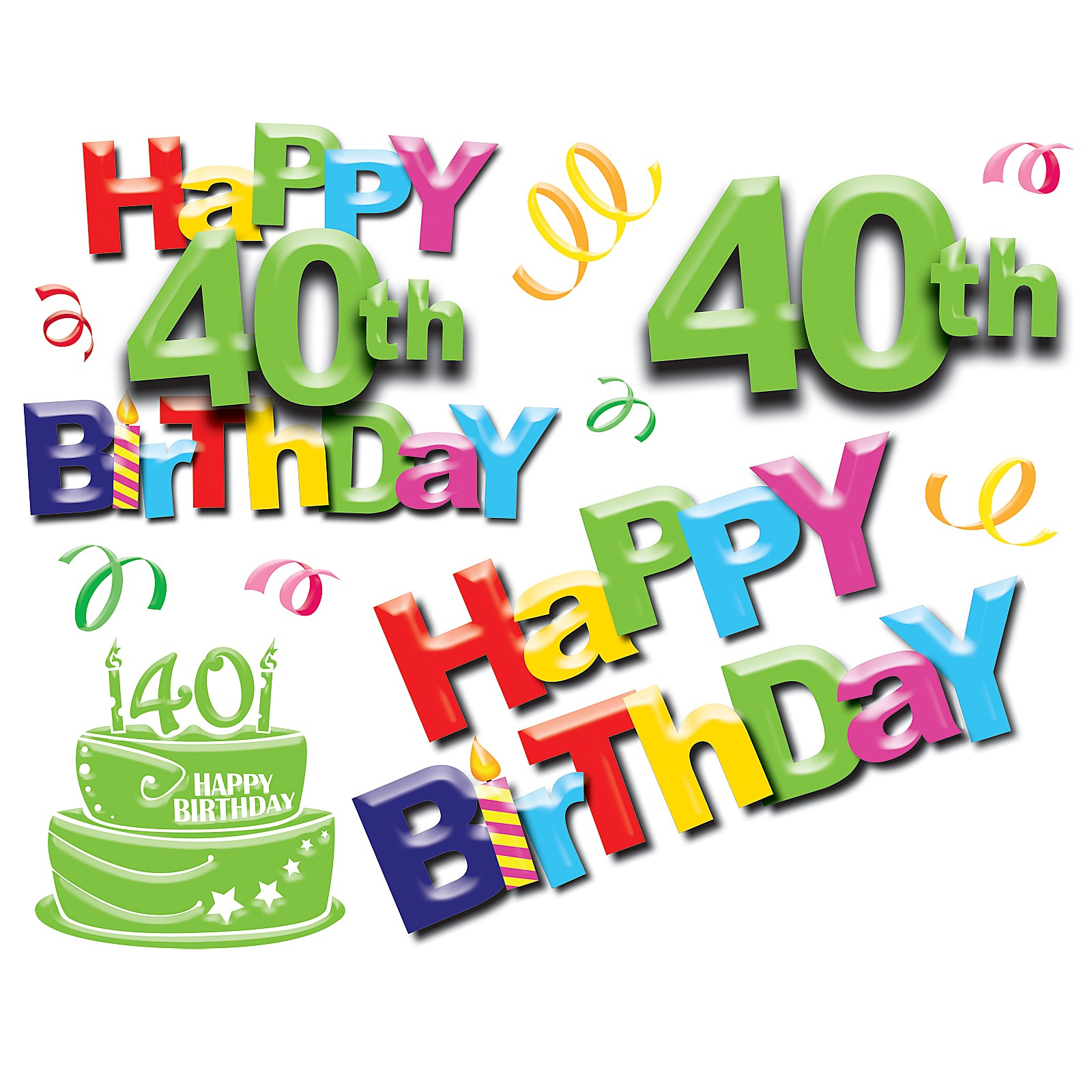 30th birthday clip art images ; 40-birthday-clipart-9
