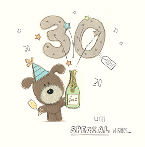 30th birthday clip art images ; CardHS_Bday16_LotsOfWoof_294530_S
