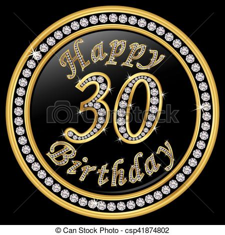 30th birthday clip art images ; happy-30th-birthday-happy-birthday-30-vector-clipart_csp41874802
