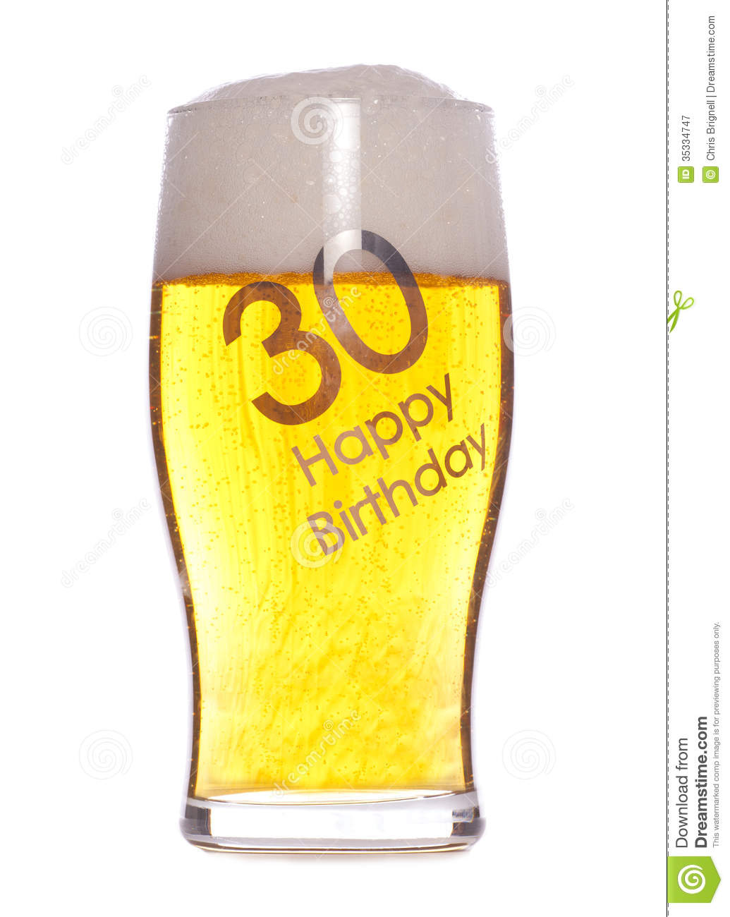 30th birthday clip art images ; th-birthday-beer-studio-cutout-35334747