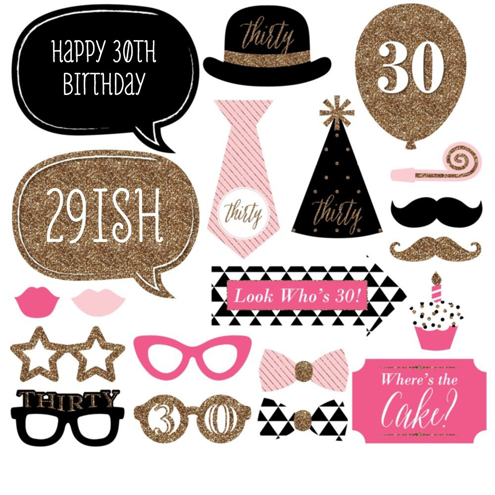 30th birthday clip art images ; woman-30-birthday-clipart-10