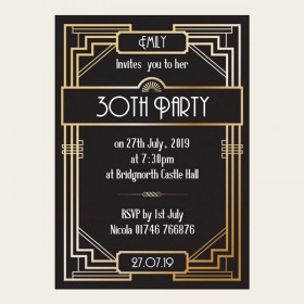 30th birthday invitation designs ; 30th-birthday-invitations-and-get-inspiration-to-create-the-birthday-invitation-design-of-your-dreams-18