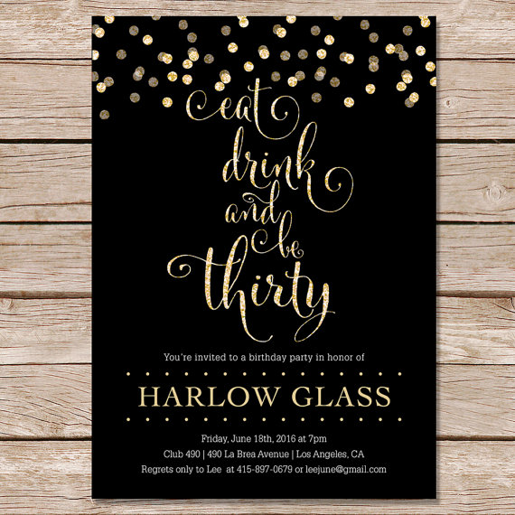 30th birthday invitation designs ; Mesmerizing-30Th-Birthday-Party-Invitations-For-Additional-Birthday-Invitations-Free
