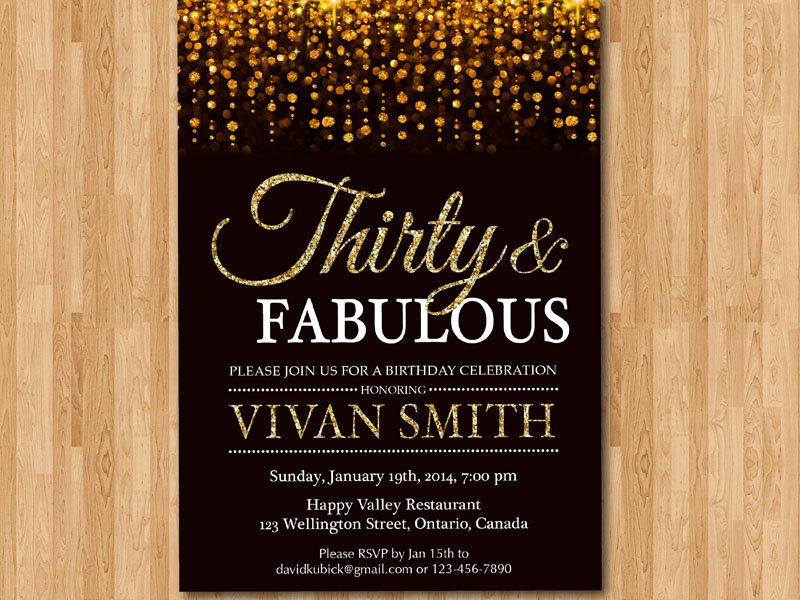 30th birthday invitations with photo ; 30th-birthday-invitation-for-women-thirty-and-arthomer-on-etsy-30th-birthday-invitations