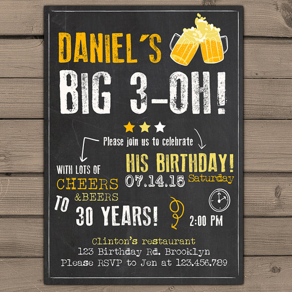 30th birthday invitations with photo ; 30th-birthday-invitations-for-him-and-get-inspired-to-make-your-birthday-with-smart-design-1
