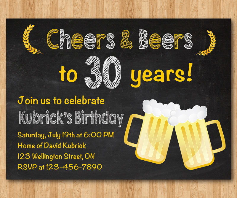 30th birthday invitations with photo ; 30th-birthday-invitations-for-him-template-stylish-30th-birthday-invitations-beer-with-image