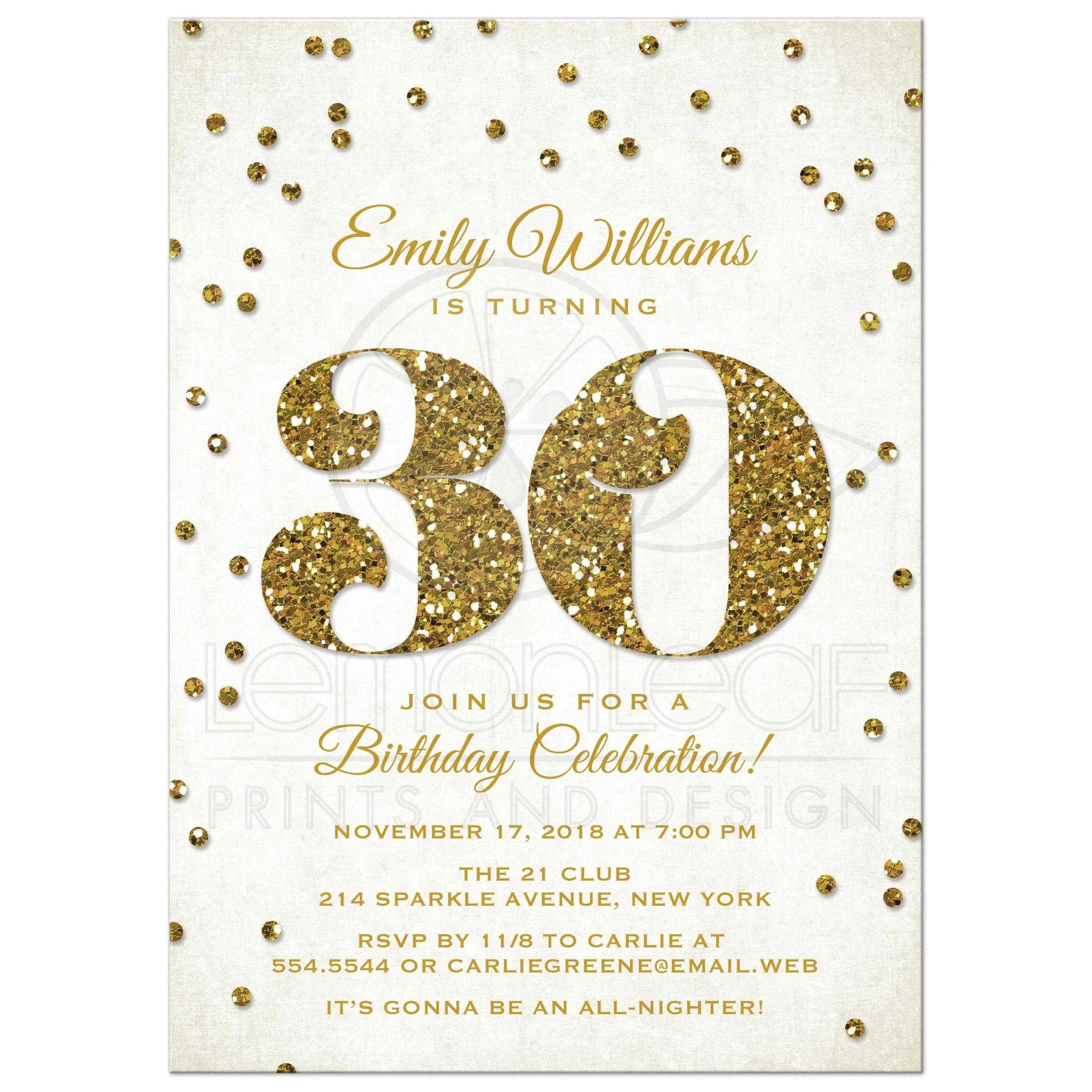 30th birthday invitations with photo ; 30th-birthday-invitations-templates-free-printable