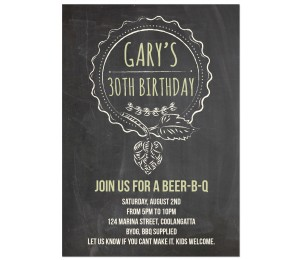 30th birthday invitations with photo ; hoppy_birthday-1_copy