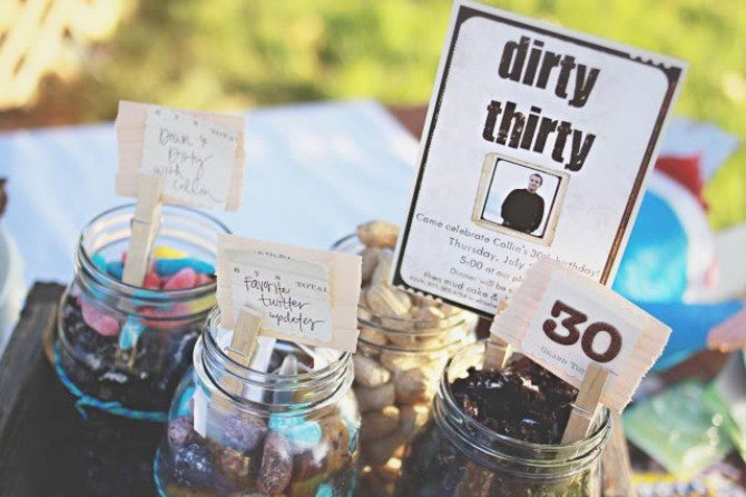 30th birthday party themes ; birthday-party-ideas-dirty-thirty