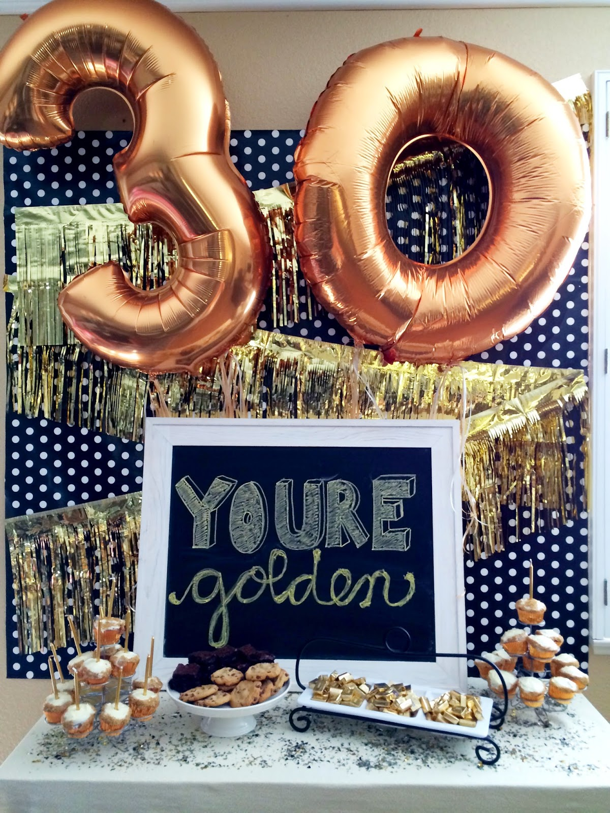 30th birthday picture ideas ; Youre-Golden