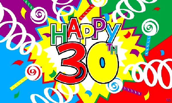 30th birthday pictures clip art ; 30th-birthday-flag-5064-p