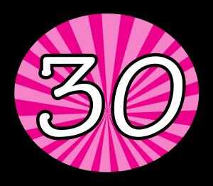 30th birthday pictures clip art ; 30th-birthday