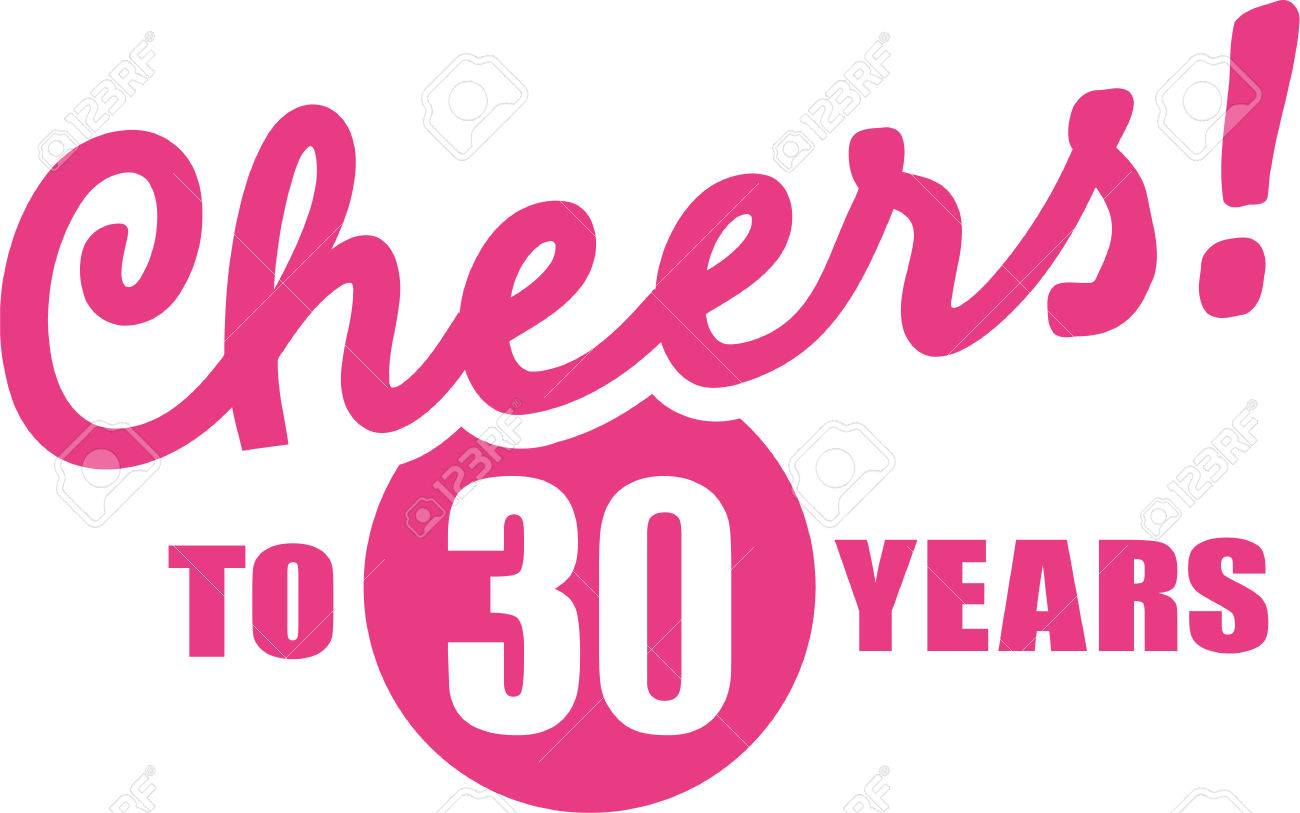 30th birthday pictures clip art ; 60092011-cheers-to-30-years-30th-birthday