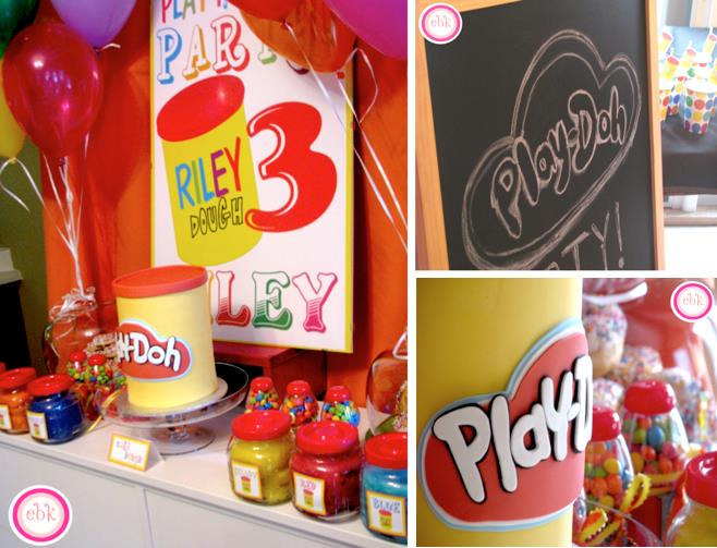 3rd birthday party themes for girl ; Playdoh-play-doh-themed-3rd-birthday-party-via-Karas-Party-Ideas-www
