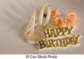 40th birthday background images ; 40th-birthday-sign-stock-photography_csp1599960