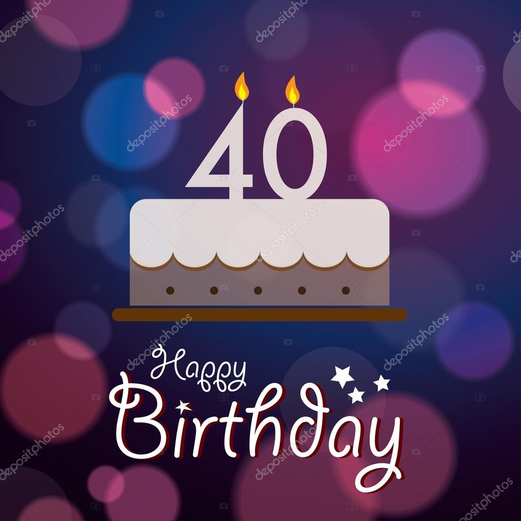 40th birthday background images ; depositphotos_51191991-stock-illustration-happy-40th-birthday-bokeh-vector