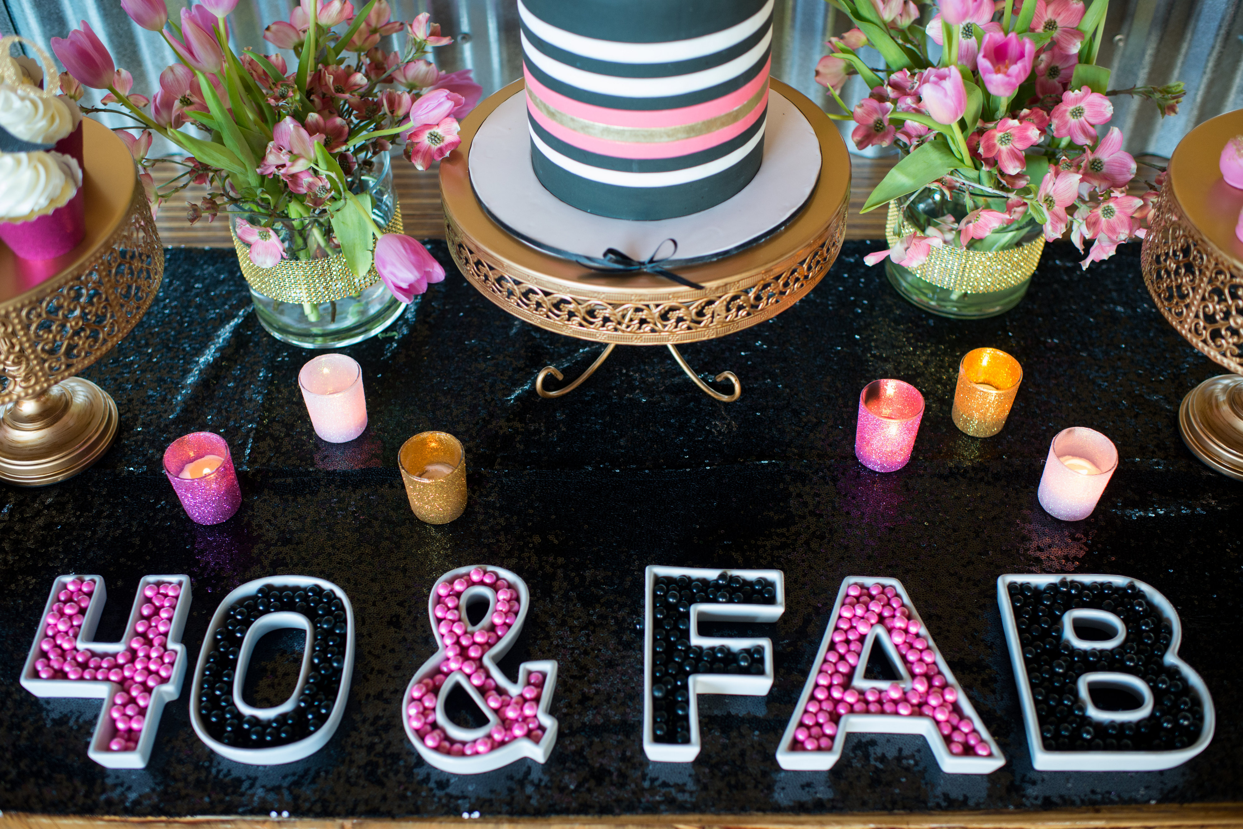 40th birthday color theme ; Tiny-Prints-Styled-Shoot-Hoopla-Events-0050