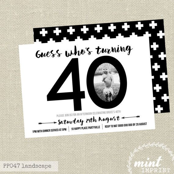 40th birthday invitation designs ; 40th-birthday-invitations-is-one-of-the-best-idea-for-you-to-make-your-own-birthday-invitation-design-1