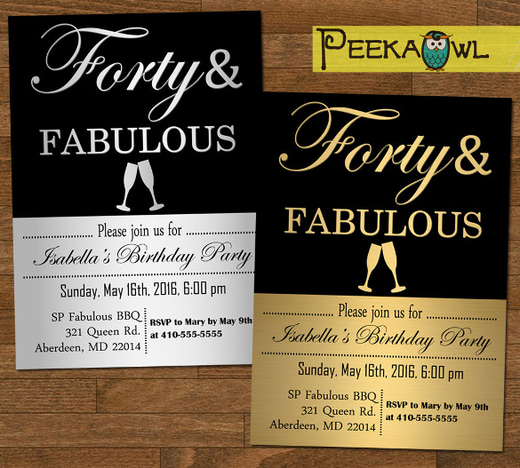 40th birthday invitation designs ; 40th-birthday-invitations-is-one-of-the-best-idea-for-you-to-make-your-own-birthday-invitation-design-16