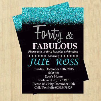 40th birthday party invitation designs ; 40th-birthday-invitations-for-her-for-a-easy-on-the-eye-birthday-invitation-design-with-easy-on-the-eye-layout-1