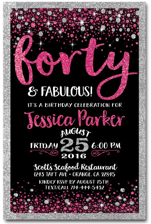 40th birthday party invitation designs ; 40th-birthday-party-invitations-and-this-design-Birthday-Invitation-will-graceful-with-the-invitation-design-17
