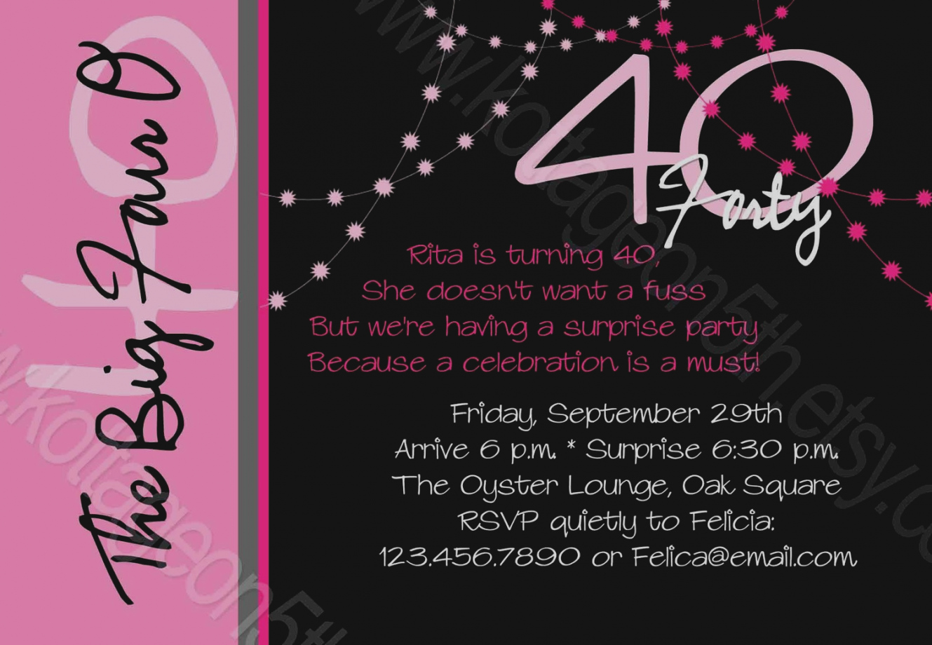 40th birthday party invitation designs ; wonderful-40th-birthday-party-invitations-uk-tips-to-write-invitation-wording-all-ideas