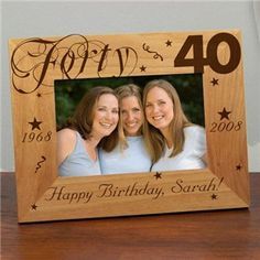 40th birthday picture frame ; 25aa8304cad8f63cbe873bcf7d2396d2--happy-th-birthday-happy-birthday-pictures