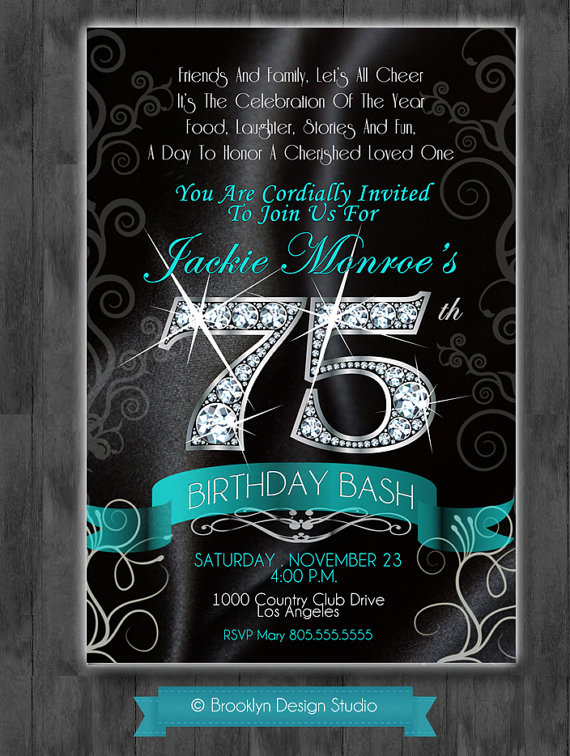 45th birthday invitation templates ; 75th-birthday-invitations-together-with-a-picturesque-view-of-your-Birthday-Invitation-Templates-using-fantastic-invitations-19