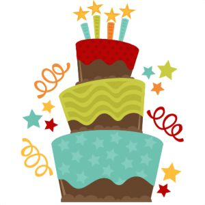 4th birthday clipart ; first-4th-birthday-clipart-1
