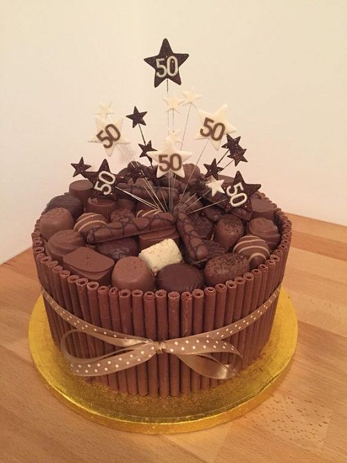 50th birthday cake with picture on it ; 3ef87a404ffeac9138aec201b48fd806