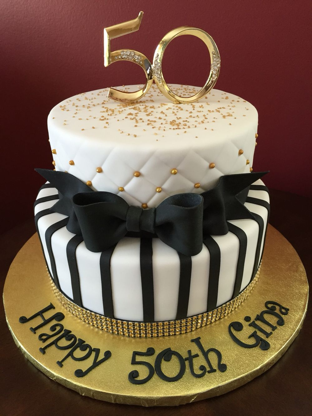 50th birthday cake with picture on it ; 7c6fe212521d53438f47f3a8a9b484c9