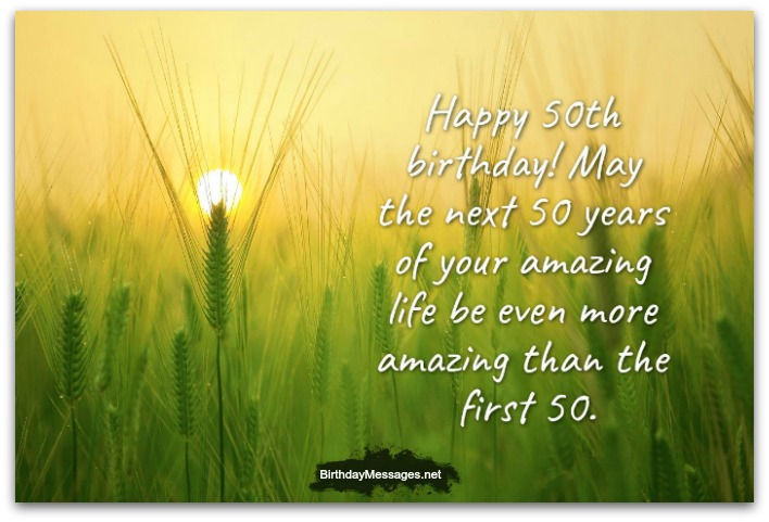 50th birthday card messages ; 50th-birthday-wishes-2C
