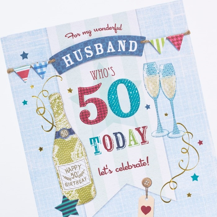 50th birthday card messages for husband ; the-collection-of-nice-and-vivid-birthday-cards-for-your-dear-husband-4