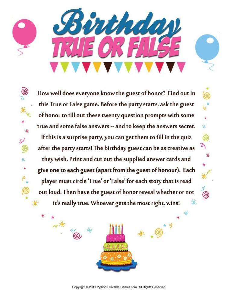 50th birthday party games and activities ; 317645144