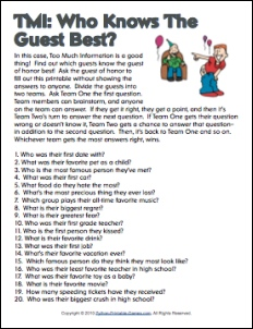 50th birthday party games and activities ; valuable-inspiration-50th-birthday-party-game-ideas-40th-questionnaire