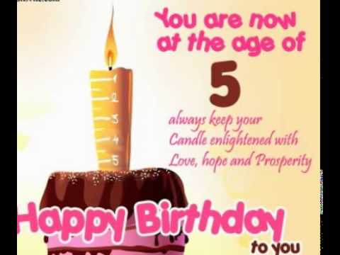 5th birthday card messages ; hqdefault