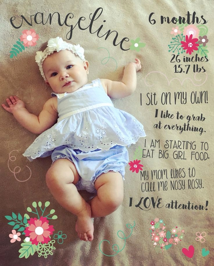6 month birthday picture ideas ; 6-month-birthday-quotes-best-of-41-best-half-birthday-parties-images-on-pinterest-of-6-month-birthday-quotes