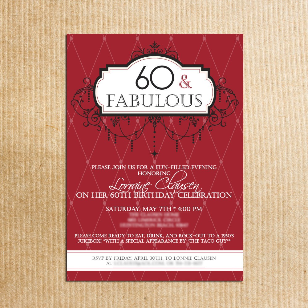 60th birthday party photo invitations ; 60th-birthday-party-invitations-for-the-best-Birthday-Invitation-you-have-unique-17
