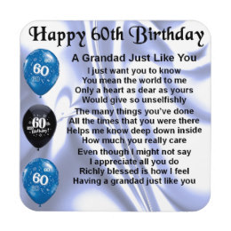 60th birthday poems ; grandad_poem_60th_birthday_coaster-rc7d646b95f9f41ee8028d4722d9d278f_ambkq_8byvr_260