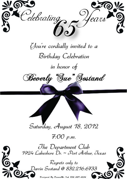 65th birthday invitations templates ; 65th-birthday-invitations-and-delightful-invitations-fitting-aimed-at-giving-pleasure-to-your-Bridal-Shower-Invitation-Templates-8