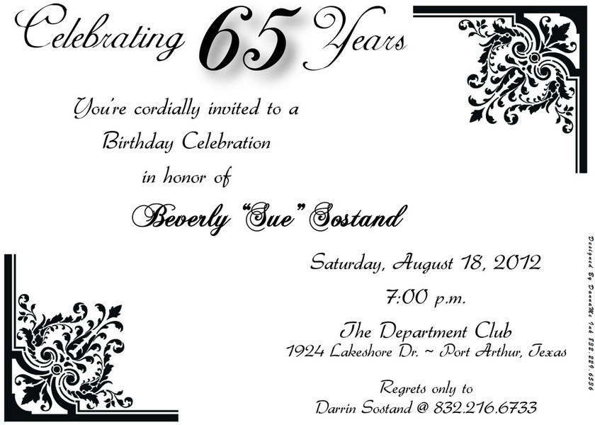 65th birthday invitations templates ; 65th-birthday-invitations-with-bewitching-Bridal-Shower-Invitation-Templates-as-a-result-of-an-application-using-a-felicitous-concept-4