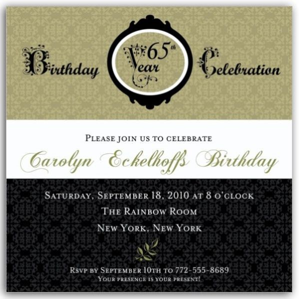 65th birthday invitations templates ; Remarkable-65Th-Birthday-Invitations-As-Birthday-Invites