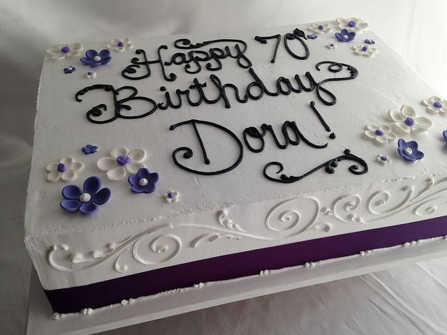 65th birthday sheet cake ; 157369443f69192091504ccebaea1f48--flat-cakes-butter-cakes