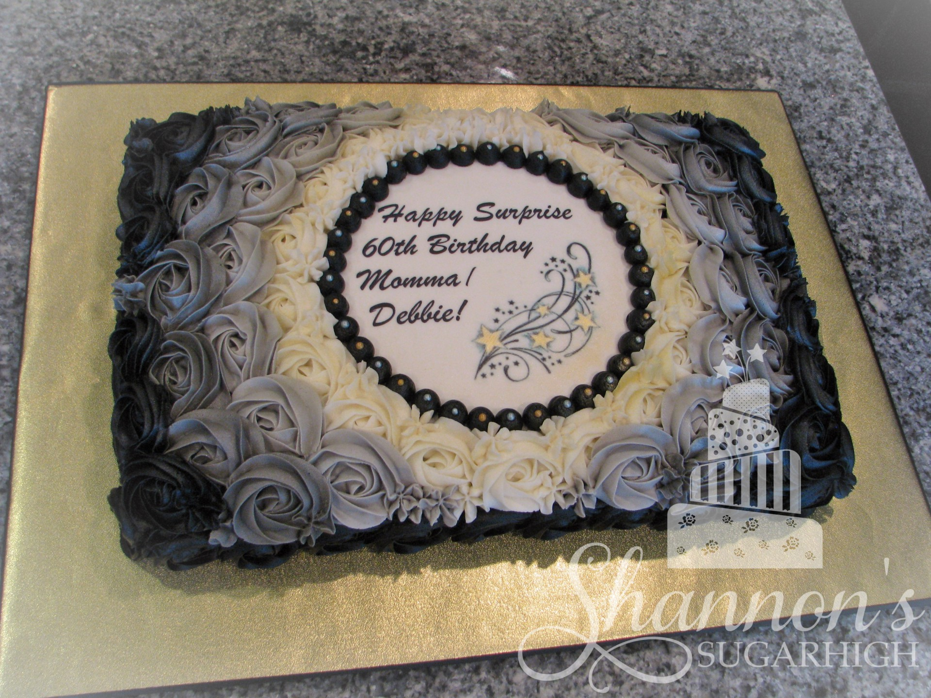 65th birthday sheet cake ; 5f9677e6ba96627f03e504072dd191bb