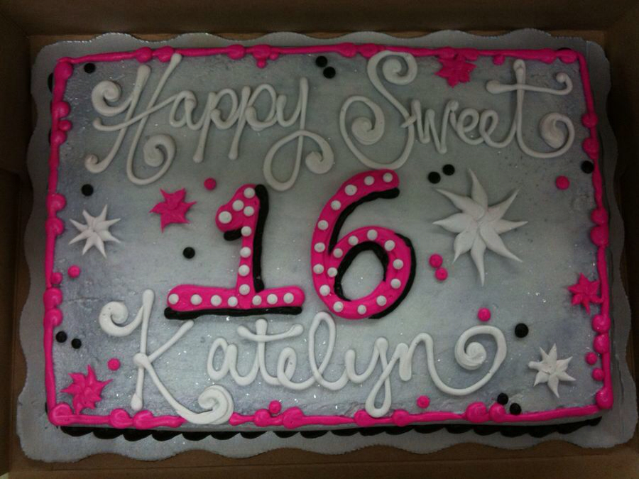 65th birthday sheet cake ; 84cf008315d89a633b08ee854f22ac7f
