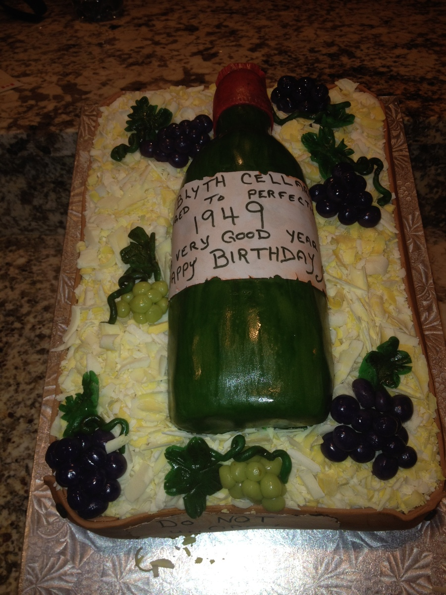 65th birthday sheet cake ; 900_743303VWut_my-husbands-65th-birthday-cake-straw-is-white-chocolate-and-the-grapes-are-marzipan-wine-bottle-is-also-cake-with-edible-sugar-sheet